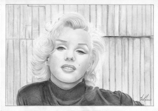 Marilyn Monroe by Lemik90